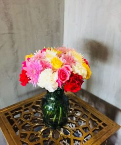 Mixed Carnations Chrysanthemums