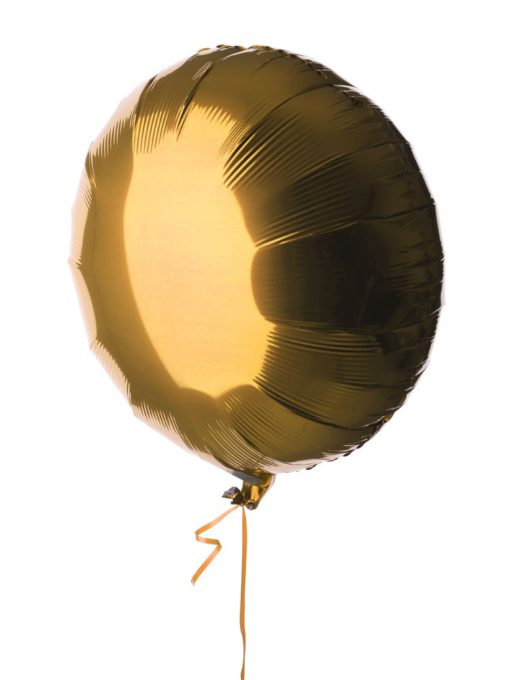 Single Helium Mylar Balloon