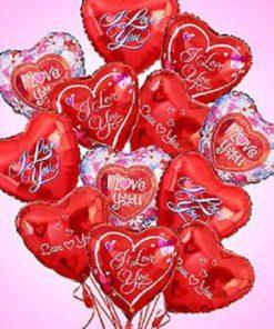 Love & Romance Mylar Balloons