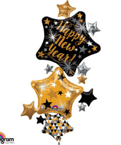 New Year Star Stacker MultiBalloon
