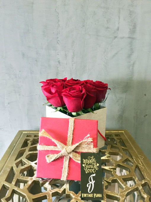 Roses from Santa
