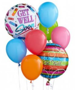Florist Designed Get Well Balloon Bouquet